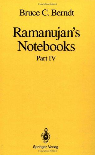 Ramanujan's Notebooks
