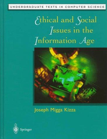 Download Ethical and social issues in the information age