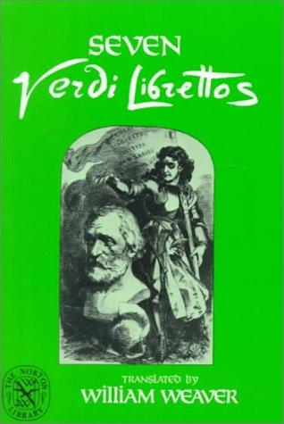 Seven Verdi Librettos