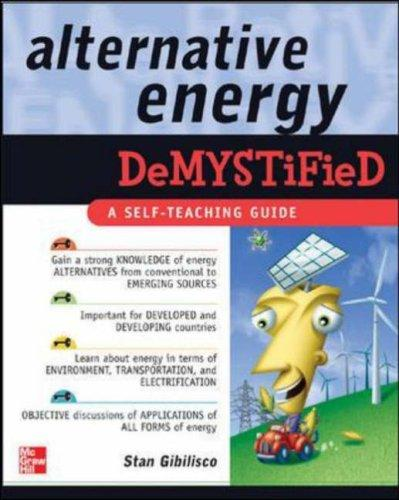 Download Alternative Energy Demystified