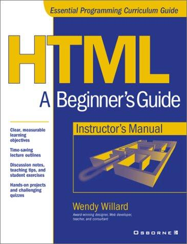 Instructor's Manual