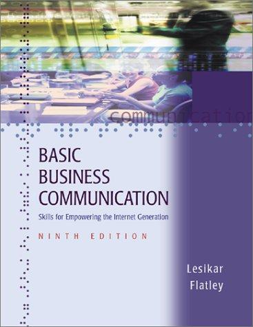 Download Basic business communication