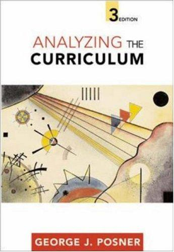 Download Analyzing the curriculum