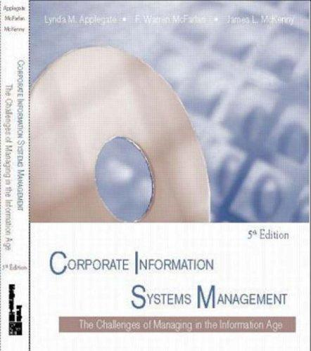 Download Corporate information systems management