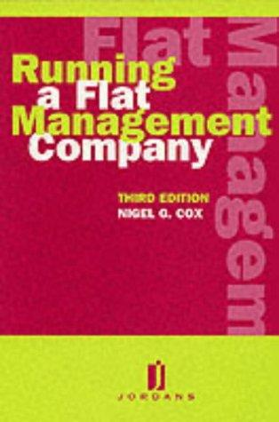 Download Running a flat management company