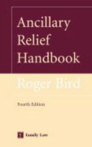 Ancillary relief handbook