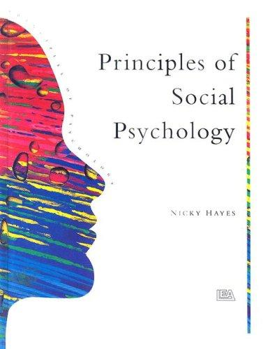 Principles Of Social Psychology (Principles of Psychology) (Open ...