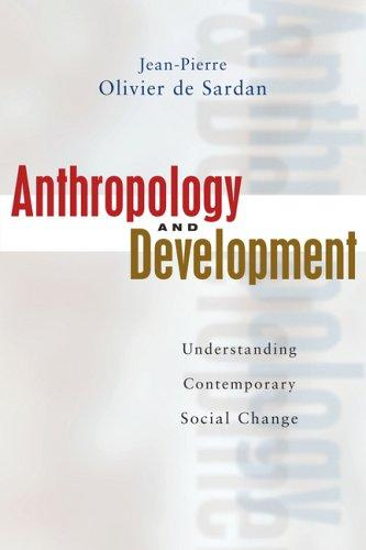 Download Anthropology and Development