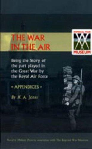 Download War in the Air: Being the Story of the Part Played in the Great War by the Royal Air Force