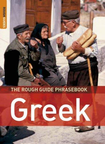 Download The Rough Guide to Greek Dictionary Phrasebook 3 (Rough Guide Phrasebooks)