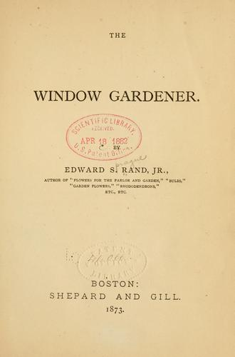 Download The window gardener.