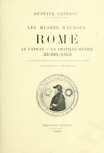 Download Les musées d'Europe.