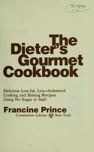 Download The dieter's gourmet cookbook