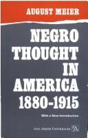 Download Negro thought in America, 1880-1915