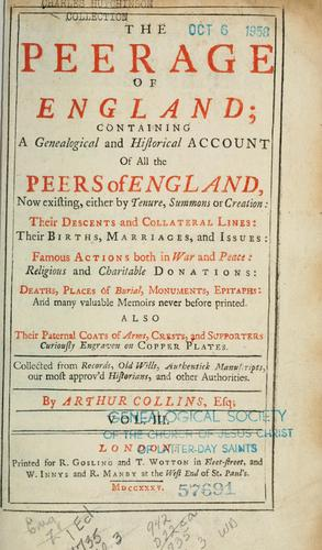 The peerage of England