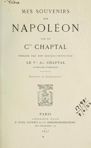 Download Mes souvenirs sur Napoléon