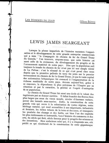 Lewis James Seargeant