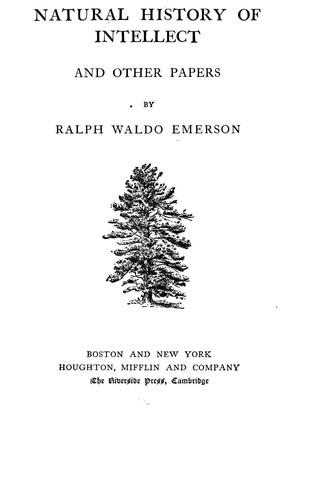 Download The complete works of Ralph Waldo Emerson