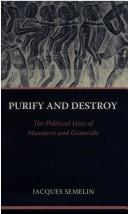 Download Purify and destroy