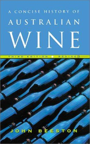 Download A Concise History of Australian Wine