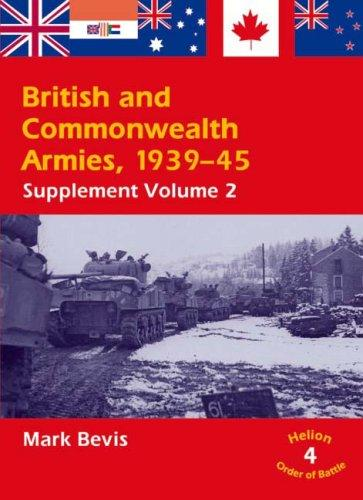 Download BRITISH AND COMMONWEALTH ARMIES 1939-45