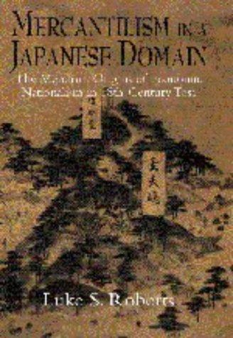 Mercantilism in a Japanese domain by Luke Shepherd Roberts
