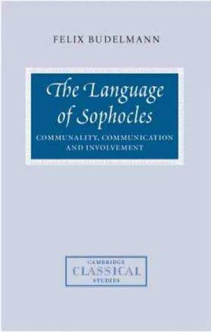 Download The language of Sophocles