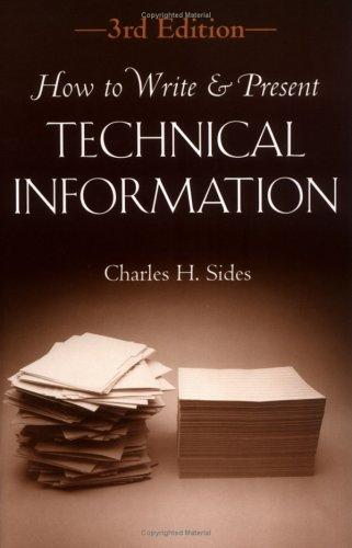 Download How to Write and Present Technical Information
