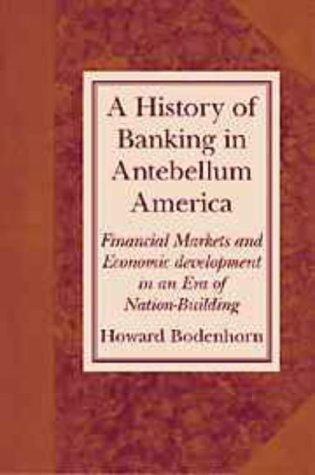 Download A History of Banking in Antebellum America