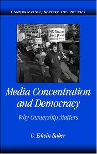 Download Media Concentration and Democracy
