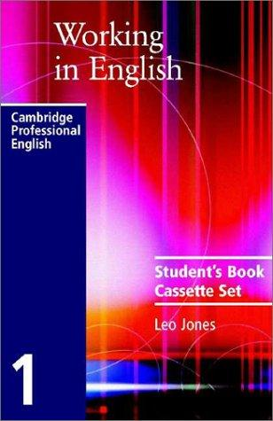 Working in English Audio Cassette Set (Working in English) by Leo Jones