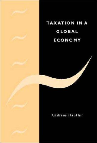 Download Taxation in a Global Economy