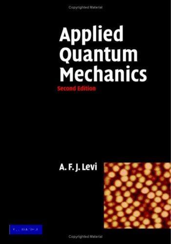 Download Applied Quantum Mechanics