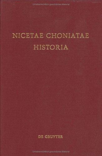 Download Nicetae Choniatae Historia