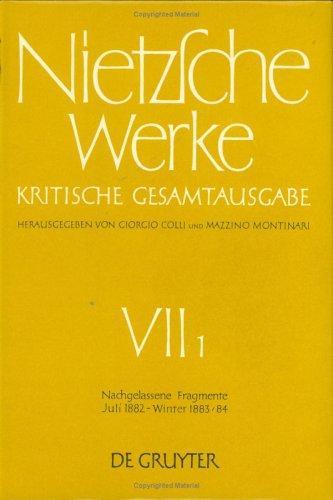 Download Nietzsche Werke