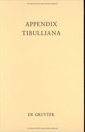 Download Appendix Tibulliana