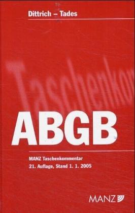 Download Das allgemeine bürgerliche Gesetzbuch