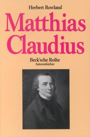 Download Matthias Claudius
