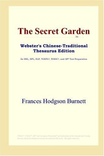 Download The Secret Garden (Webster's Chinese-Traditional Thesaurus Edition)