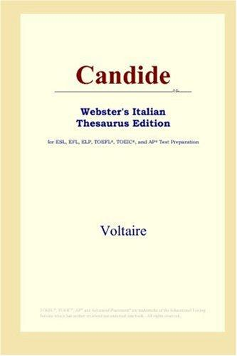 Candide (Webster's Italian Thesaurus Edition)