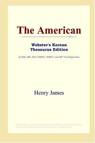 The American (Webster's Korean Thesaurus Edition)