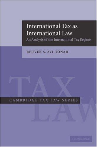 Download International Tax as International Law