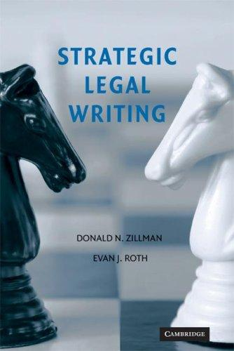 Download Strategic Legal Writing