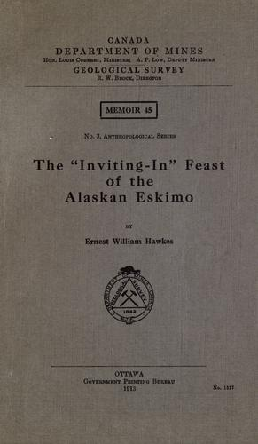 "The "" Inviting-in"" feast of the Alaskan Eskimo"