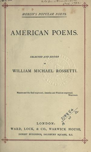 Download American poems