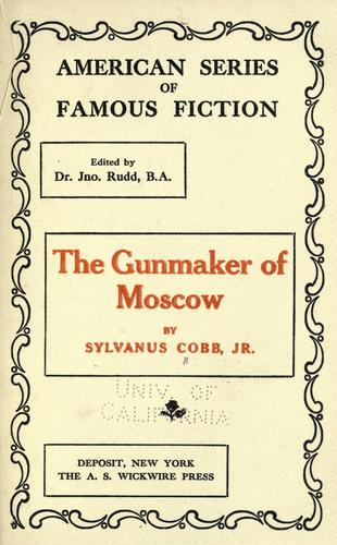 Download The gun-maker of Moscow