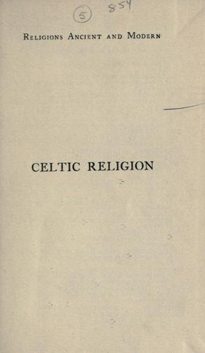 Download Celtic religion in pre-Christian times.