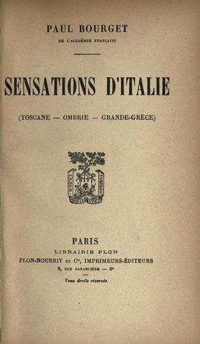 Download Sensations d'Italie.