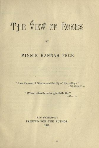 The view of roses.