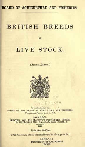 Download British breeds of live stock.